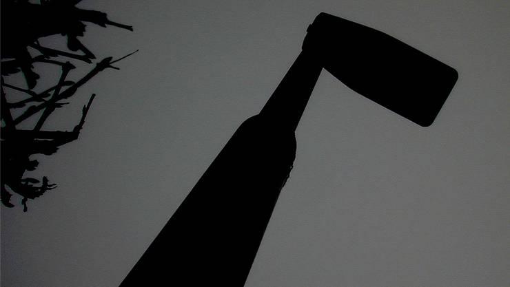 Die Strasssenlaternen in Baden bleiben ab September fast alle dunkel. (Symbolbild).