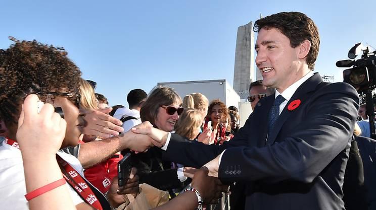 Der kanadische Ministerpräsident Justin Trudeau hat im Wahlkampf 2015 versprochen, Drogen zu legalisieren. (Archivbild)