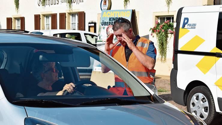 Bei der Aktion Schulbeginn wurde für Schulkinder im Strassenverkehr sensibilisiert.