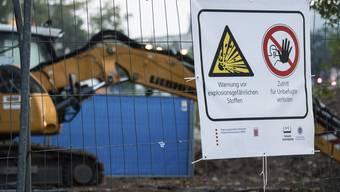 Bombenentschärfung in Frankfurt
