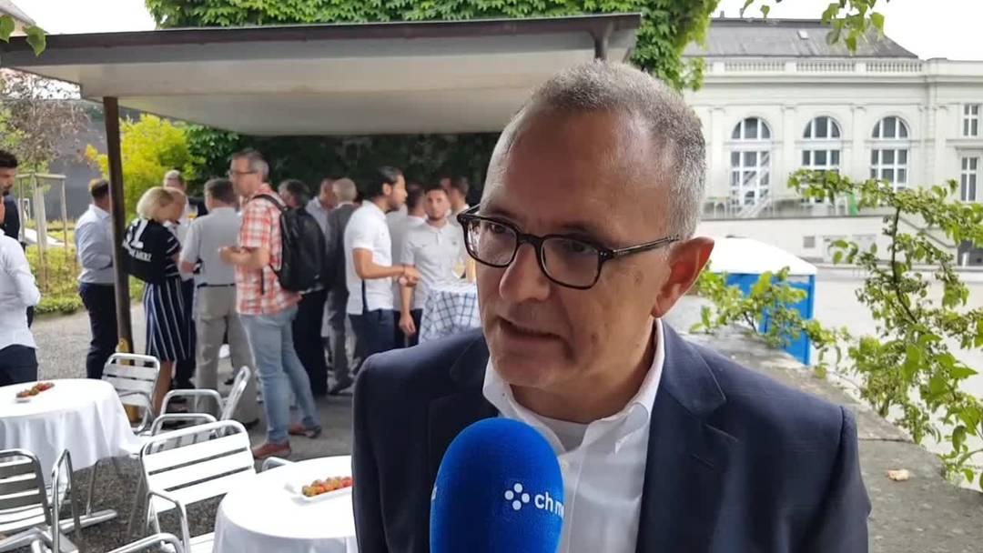 Aarau feiert seinen Fussballclub: Interview Stadtpräsident Hilfiker