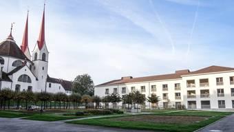 Der Neubau Löwen passt auch architektonisch in die Umgebung.
