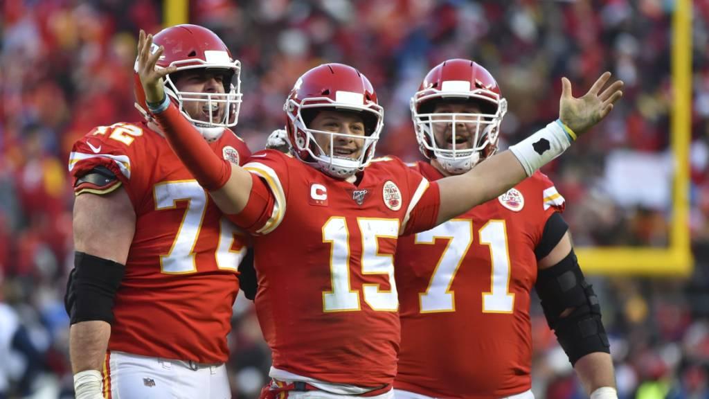 Kansas City Chiefs erstmals seit 50 Jahren in der Super Bowl