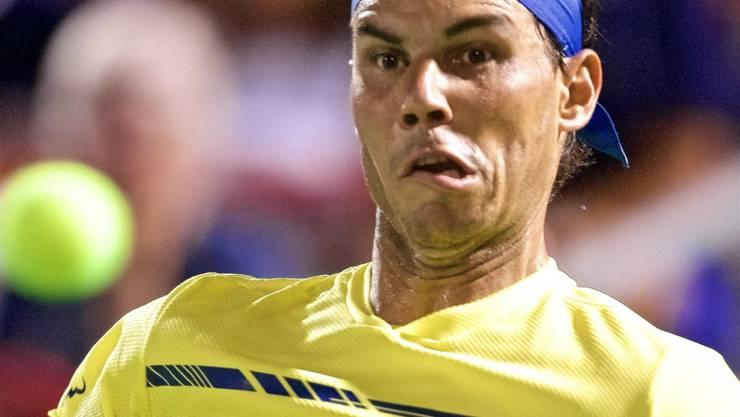 Böse Überraschung für Rafael Nadal: Er scheiterte in Montreal im Achtelfinal und verpasste den Sprung an die Weltranglistenspitze.