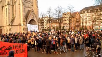 Am Samstag fand eine zweite Demonstration statt.