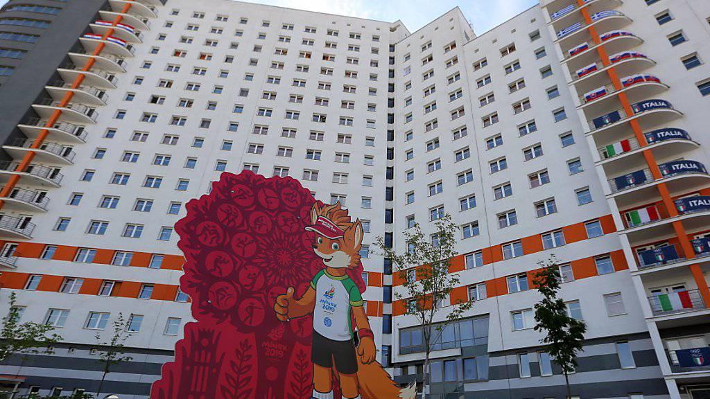 Die weissrussische Hauptstadt Minsk ruft zu den zweiten Europa-Spielen: Dem Aufruf folgen aber längst nicht alle