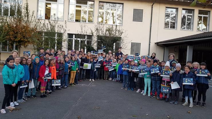 Die Klassen vom Schulhaus Vorstadt freuen sich über das Preisgeld.