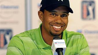 Golf-Profi Tiger Woods (Archiv)