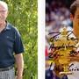 René Borer erhält zum 80. Geburtstag Glückwünsche von Roger Federer.