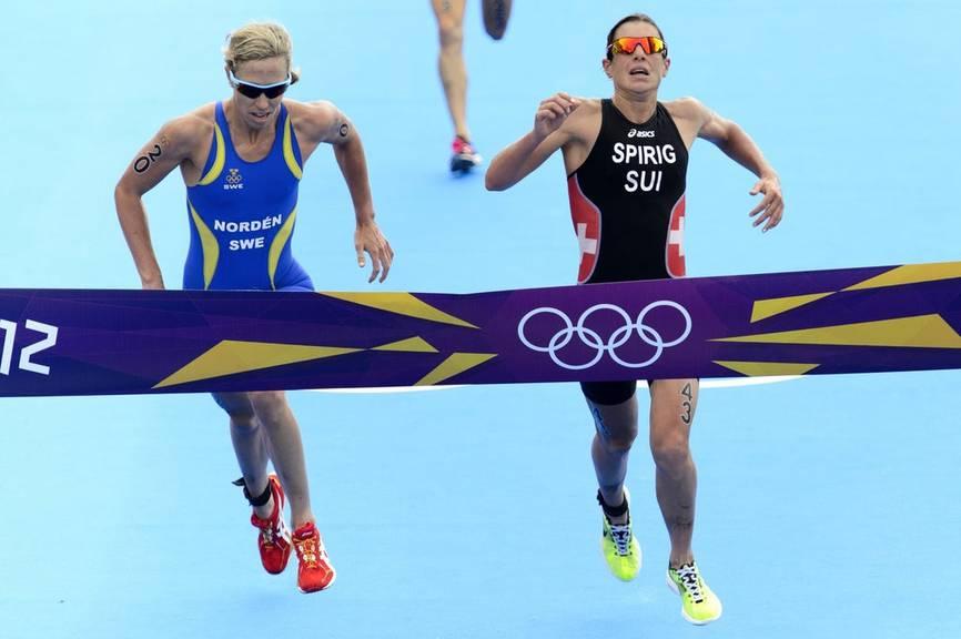 2012 gewann Nicola Spirig in London im Schlussspurt Olympia-Gold.