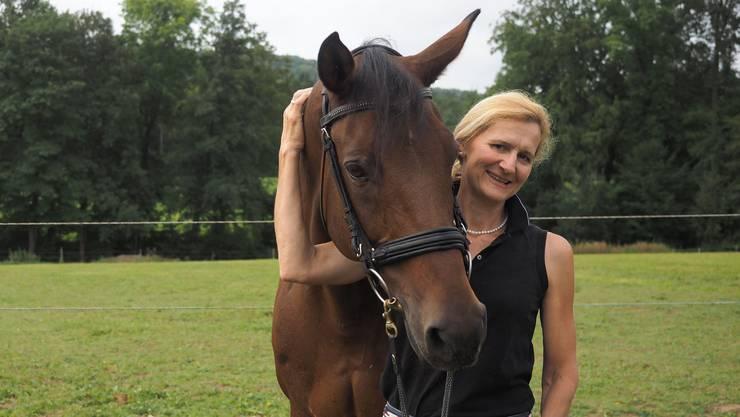 Nicole Geiger startet für die Schweiz an den Paralympics in Rio in der Dressur.