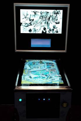 """Andreas Ullrich und C. Rockefeller von der Art Investment Group haben dieses Werk mit dem Namen """"The Machine"""" konstruiert."""