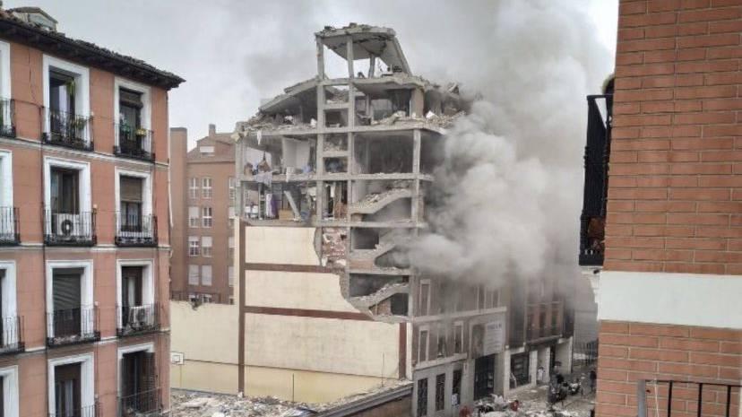 Explosion im Zentrum Madrids ++ mindestens drei Tote