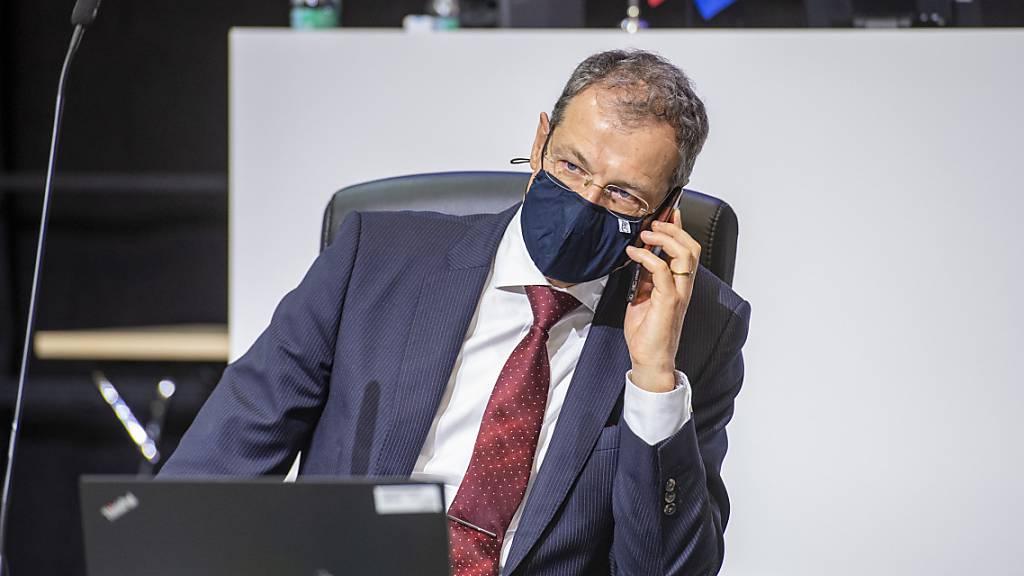 Der Luzerner Finanzdirektor Reto Wyss stellt mehr Geld für Härtefälle zur Verfügung. (Archivbild)