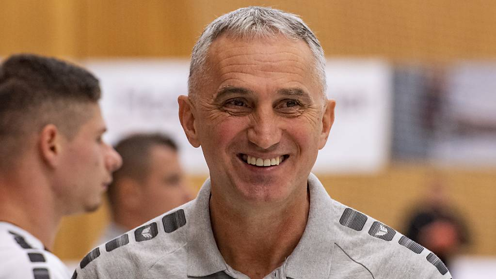 Hat gut Lachen: Kriens-Luzern Trainer Goran Perkovac.