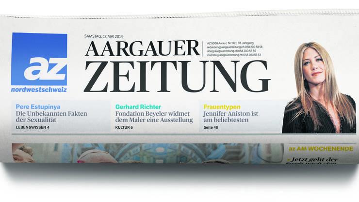 Die Aargauer Zeitung in neuem Kleid.