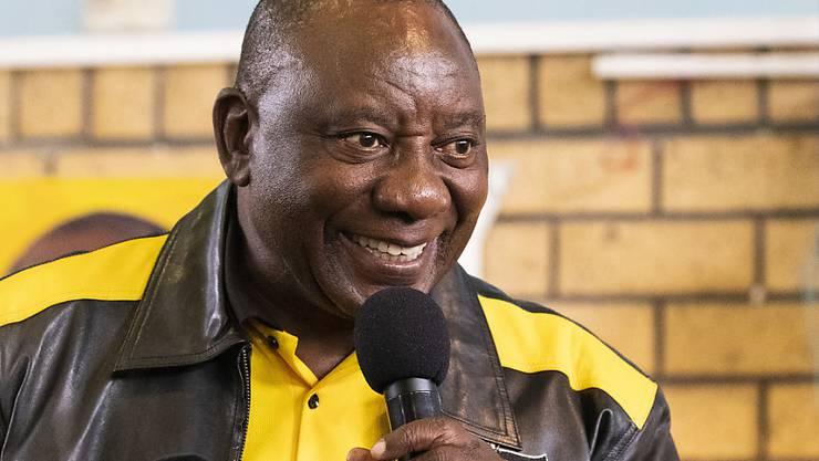 In Südafrika wählt das Parlament auch den neuen Staatschef. Damit scheint dem ANC-Vorsitzenden Cyril Ramaphosa eine zweite Amtszeit als Präsident sicher. (Archivbild)