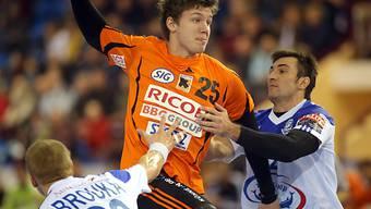 Kadettens Christian Dissinger erzielte gegen St. Otmar 11 Tore.