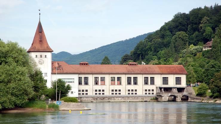 Die IBA bleibt Konzessionärin des Aarauer Kraftwerks.az/Archiv