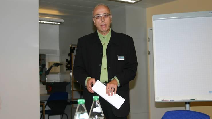 Rolf Strässler, diplomierter Wundexperte, leitet das Ambulatorium.