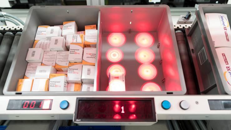 Im Onlineversand von Medikamenten sieht Zur Rose noch erhebliches Potenzial.     Bild:  KEYSTONE/Gaetan Bally
