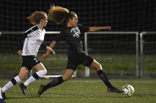 Die FC Aarau Frauen trauen sich viel und machen von Anfang an Druck.