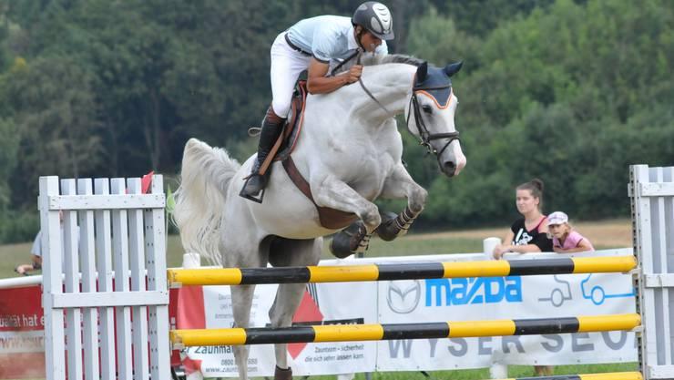 Moreno Pichierri aus Schöftland erreichte mit Candy im Bünztal-Seetal-Cup den zweiten Platz. sih
