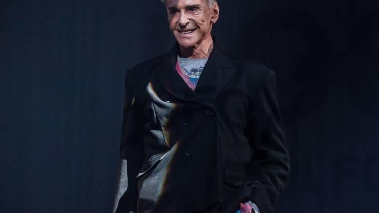 Der deutsche Designer Wolfgang Joop ist nach eigenen Angaben aus einer Zeit, in der Mode noch Spass machte.