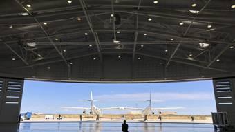 Vom neuen Weltraumbahnhof in New Mexiko aus direkt ins All: Virgin Galactic will im nächsten Jahr erste Touristen in den Weltraum befördern.