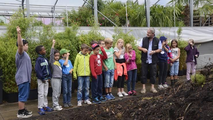Die Kinder wissen schon Vieles, wie sich beim Pflanzenquiz zeigt.