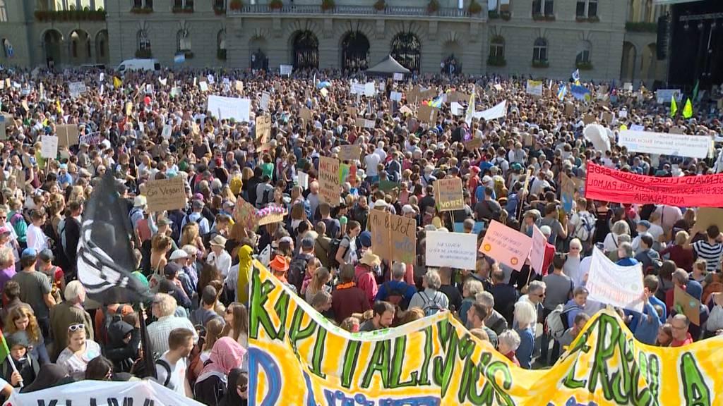 Was hat das Klima-Camp auf dem Bundesplatz bewirkt?