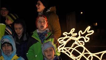 Fröhliche Kinderstimmen in Eggenwil