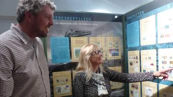 Das Sauriermuseum Frick zeigt derzeit eine Sonderausstellung über Briefmarken aus aller Welt, die mit den Urechsen verziert sind. Einige stammen aus Ländern mit eigenen Saurierfunden – wie zum Beispiel der Schweiz, die 2010 den in Frick gefundenen Raubtiersaurier auf einer Marke verewigte. Andere Länder liessen stattdessen ihre Fantasie walten.