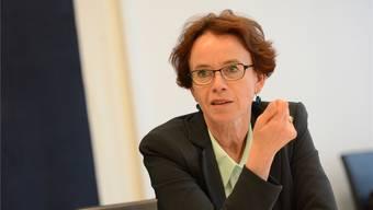 Träte Eva Herzog jetzt zurück, könnte sie zehn Jahre lang Ruhegehalt beziehen.