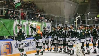 Eishockey, Swiss League, 28. Runde, EHC Olten - HC Sierre  (17. Dezember 2019)