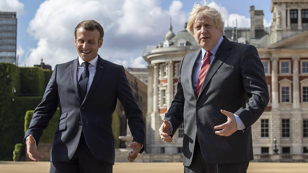 Johnson telefoniert mit Macron: Engere Zusammenarbeit gegen Covid-19
