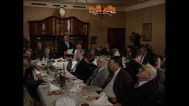 26. Session des Freiämter Schattenkabinetts am 3. November 1989 im Gasthof Schwanen in Merenschwand.