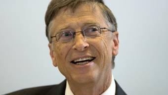 Bill Gates ist der reichste US-Amerikaner (Archiv)