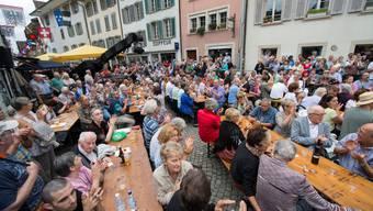 Umzug am Volksmusikfest in Aarau (V2)