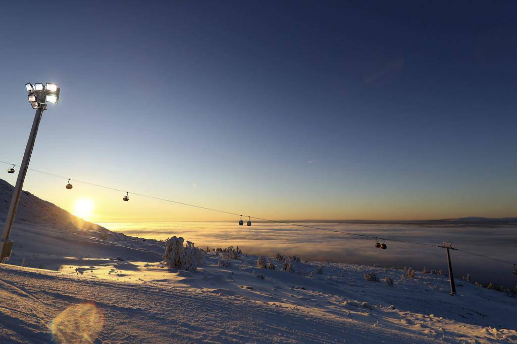 Am Morgen war noch alles friedlich... (© Keystone)