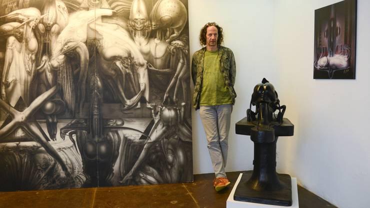 Roger Liggenstorfer in der Freitagsgalerie