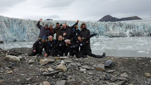 Das Swiss Arctic Project Team
