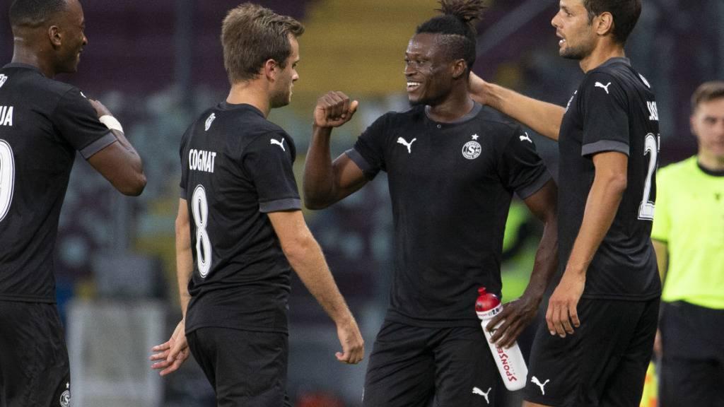 Servette kehrt erfolgreich auf die Europacup-Bühne zurück