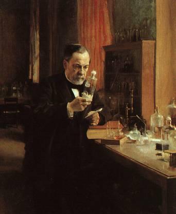 Gegen Epidemien war man lange machtlos. Edward Jenner machte 1796 die Pockenimpfung populär. Ab 1850 stellten sich Erfolge ein, als man «Mikroben» als Krankheitserreger identifizierte. Abgeschwächte oder behandelte Krankheitserreger können den Körper immun machen. Louis Pasteur (Tetanus/Tollwut; s. Bild) und Robert Koch (Tuberkulose/Cholera) waren Impf-Pioniere.