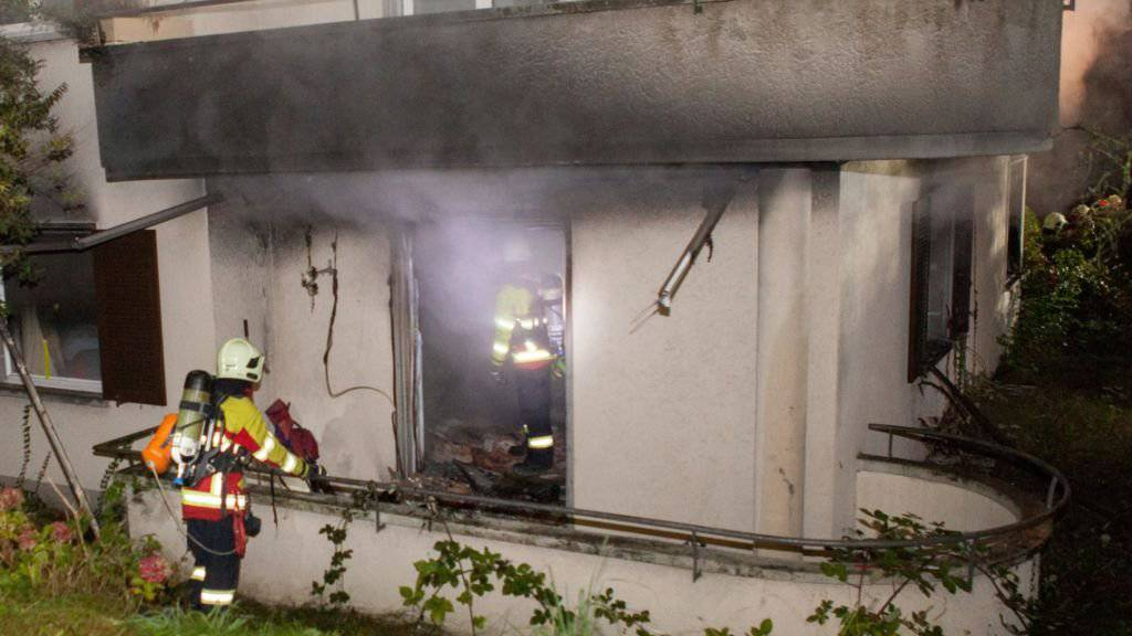 Unbewohnbar: Das in der Stadt Luzern in Brand geratene Mehrfamilienhaus im Hinterbramberg-Quartier.