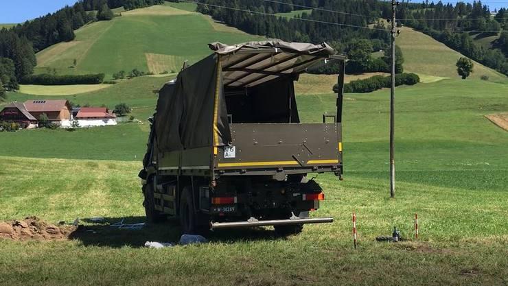19 Soldaten wurden verletzt, zwei davon schwer.