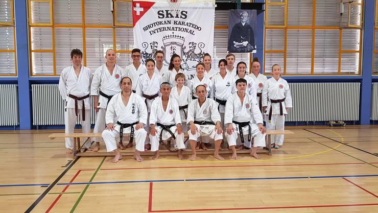 Teilnehmer vom Karateclub Gipf-Oberfrick am diesjährigen Karate Sommerlager in Losone