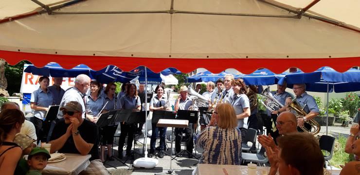 Die Musikanten präsentierten ein unterhaltsames Konzert