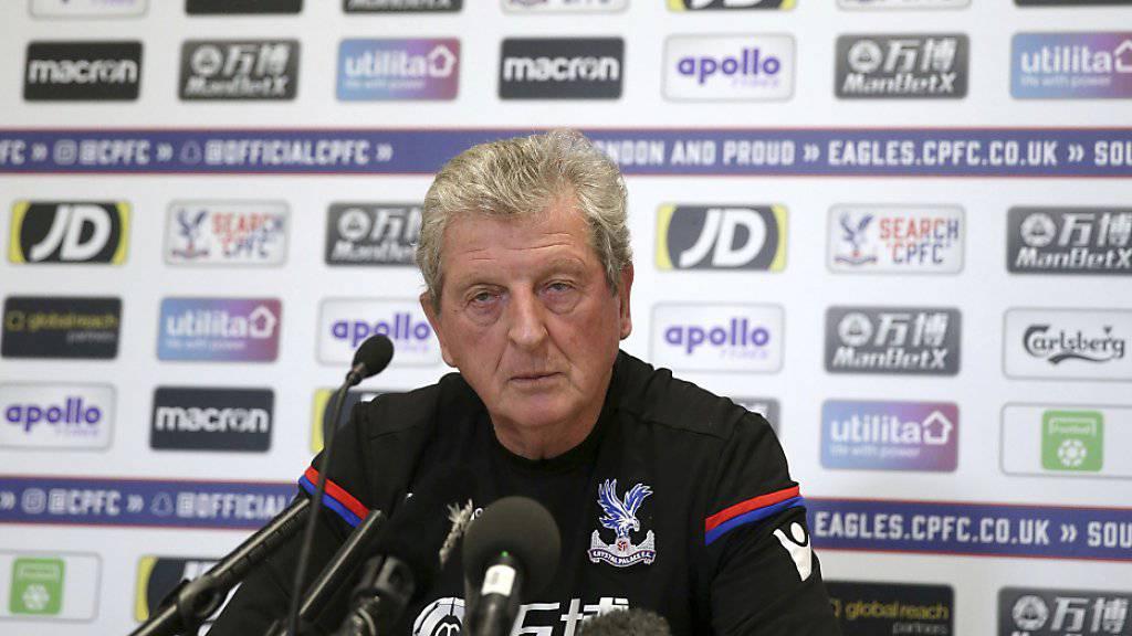 Roy Hodgson verlor sein erstes Spiel mit Crystal Palace