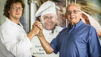 Die Produktion von Teiglingen in Baden